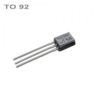 BC238B NPN 20V,0.1A,0.5W,100MHz TO92