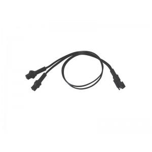 Kábel rozbočovací pre svietiace káble a pásiky, 1x2, 30cm