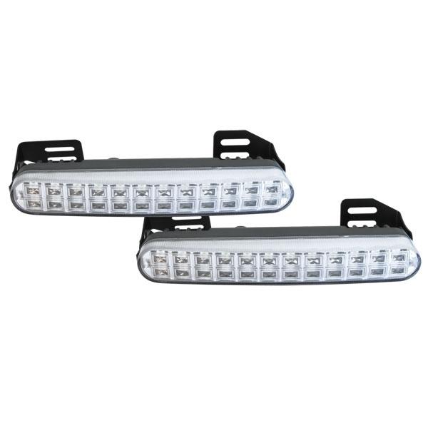 Svetlá pre denné svietenie LED DRL048, homologácia