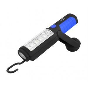 Svietidlo montážne LTC 10+5 LED, 2000 mAh, magnet, nabíjacie 12/230V
