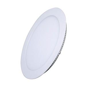 LED mini panel podhľadový 12W, 900l, 4000K, tenký, okrúhly, biely WD106 Solight