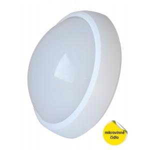 Svietidlo LED STN01 stropné nástenné s mikrovlnným čidlom, IP65, 12W, 4000K