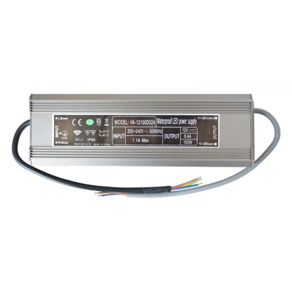 Zdroj spínaný pre LED diódy + pásiky 12V 100W 8,3 A