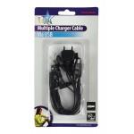 Nabíjačka GSM kábel univerzálny USB (10 typov)