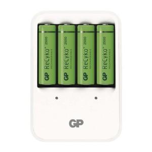 Nabíjačka GP PB420 + 4xAA Recyko+ 25000