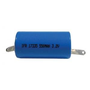 Nabíjací článok LiFePO4 IFR17335 (RCR123) 3,2V/550mAh