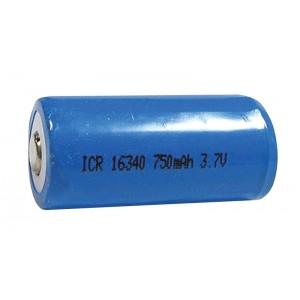 Nabíjací článok Li-Ion ICR16340 (RCR123) 3,7V/750mAh