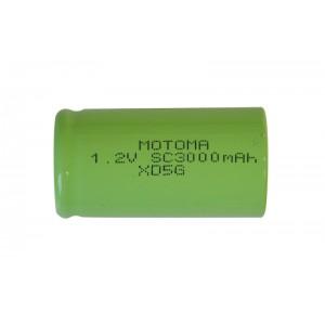 Batéria nabíjacia NiMH SC 1,2V/3000mAh MOTOMA