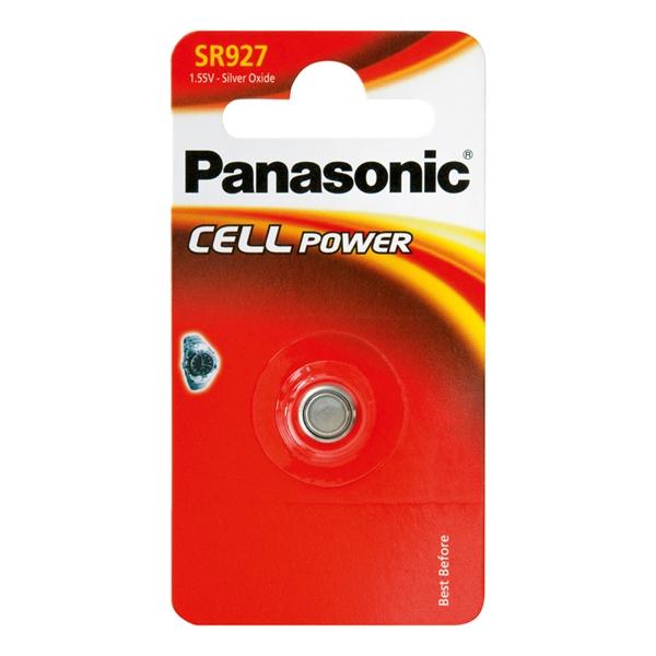 Batéria 399 PANASONIC do hodiniek 1bp striebrooxidová