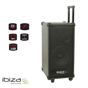 Rečnícky systém s karaoke IBIZA PORT8MINI prenosný