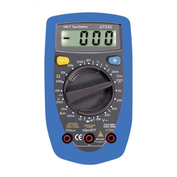 Multimeter UNI-T UT 33C modrý
