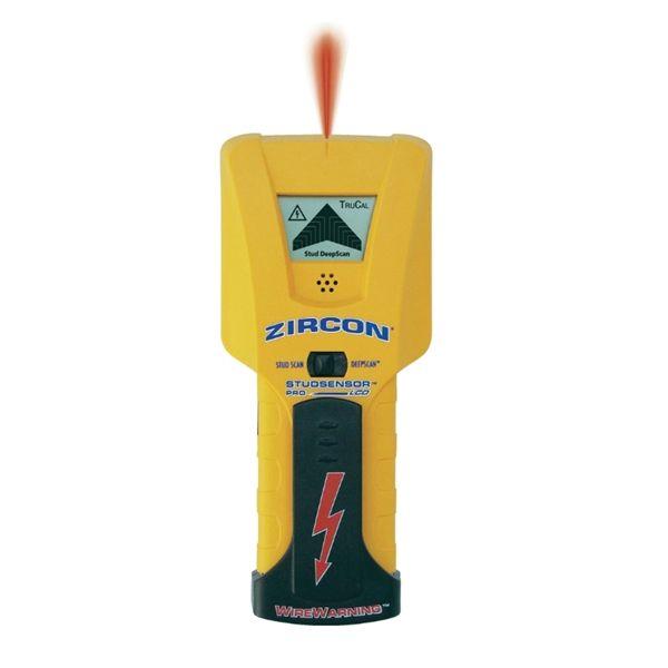 Detektor kovov, elektrických vedení ZIRCON STUDSENSOR PRO LCD