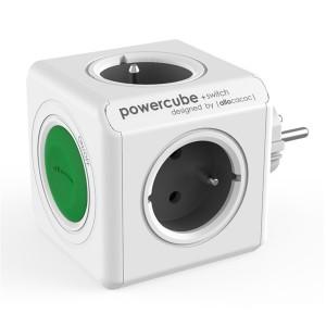 Zásuvka PowerCube ORIGINAL SWITCH sivá