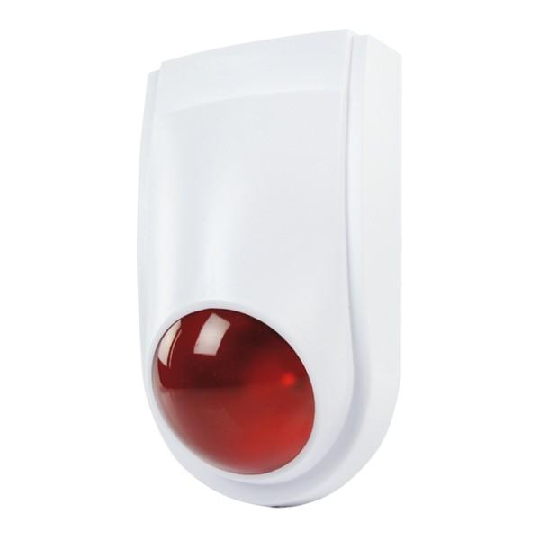 Atrapa sirény s blikajúcou LED diódou (SAS-DUMMYFL10)