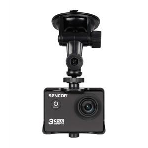 Kamera akčná SENCOR 3CAM 4K01W Outdoor - CAR SET, držiak a nabíjačka do auta