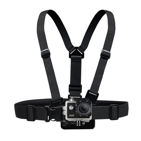 Držiak na hlavu a hrudník ku kamere akčnej SENCOR 3CAM 4K01W Outdoor
