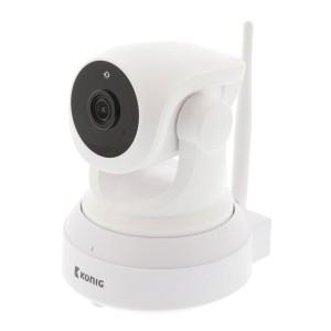 Kamera IP WiFi KÖNIG SAS-IPCAM210W rotačná