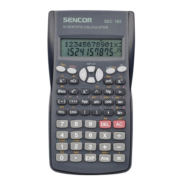 Kalkulačka školská SENCOR SEC 183