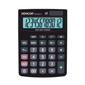 Kalkulátor vreckový SENCOR SEC 340-12 DUAL