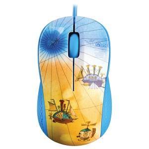 PC myš YENKEE YMS 1020BE USB FANTASY modrá