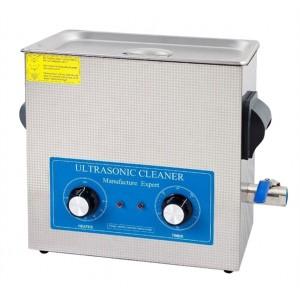 Čistička ultrazvuková VGT-1860QT 6l 150W s ohrevom, nerez
