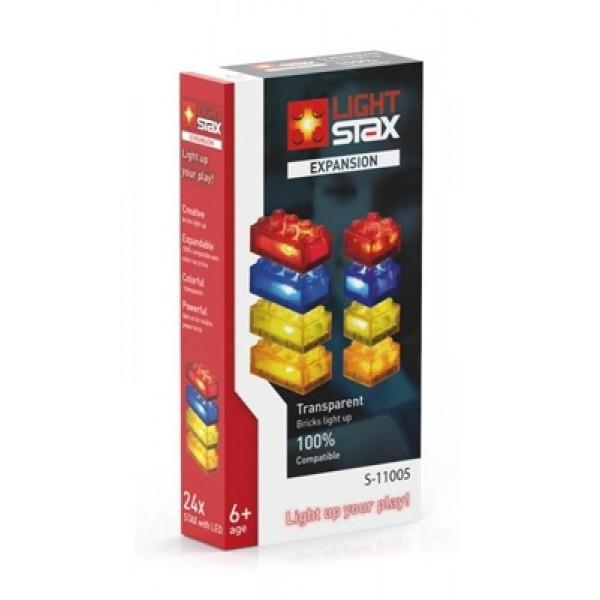 Stavebnica LIGHT STAX EXPANSION kompatibilná s LEGO