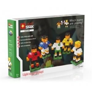 Stavebnica LIGHT STAX SOCCER 1v1 kompatibilná s LEGO