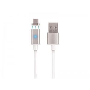 Kábel USB - Micro USB magnetický 1m FOREVER