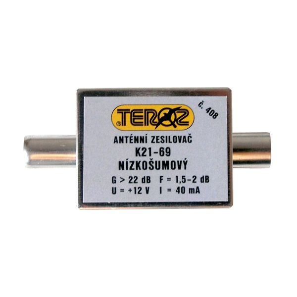 Antenný zosilňovač UHF 22dB IEC Teroz