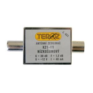 Antenný zosilňovač UHF 30dB IEC Teroz