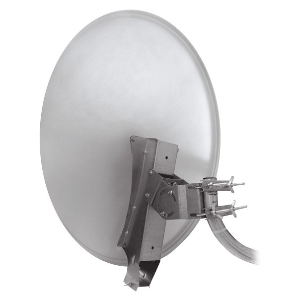 Satelitná parabola 85AL Emme Esse profi so systémom Clarkalign biela