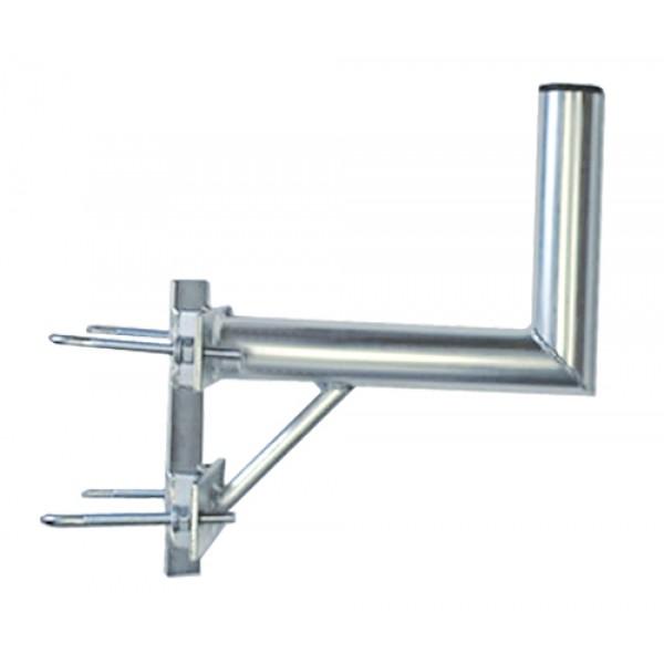 Držiak antén na stožiar 25 s vinklom a dva strmene priemer 42mm
