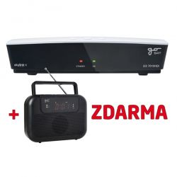 Satelitný prijímač GoSAT GS7010HDi + rádio GS-M10 Zdarma