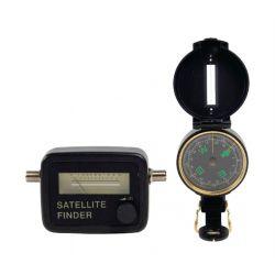 Súprava na vyhľadávanie satelitov KÖNIG SATFINDER-KIT