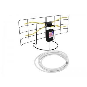 Anténa DVB-T izbová sieťová so zosilňovačom
