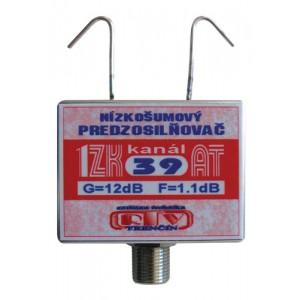 Anténny zosilňovač 1ZK39AT 12dB F
