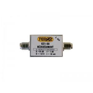 Antenný zosilňovač UHF 18dB F-F Teroz