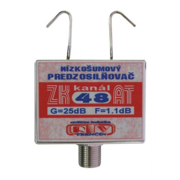 Antenný zosilňovač ZK48AT 25dB F
