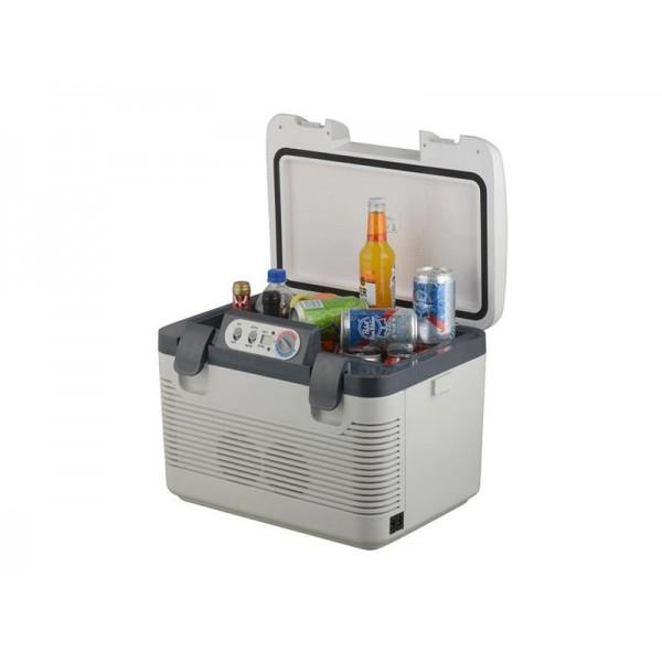 Autochladnička 19l + displej 220V/24V/12V DOUBLE