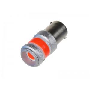 Autožiarovka LED BA15s 9-60V 12W STU červená