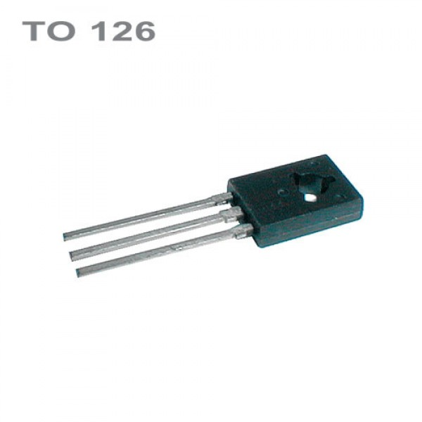 BD139 NPN 80V,1.5A,8W,250MHz TO126
