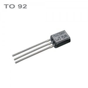 BS170 N-MOSFET 60V,0.5A, 0.83W TO92