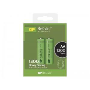 Batéria AA (R6) nabíjacia 1,2V/1300mAh GP Recyko+ 2ks