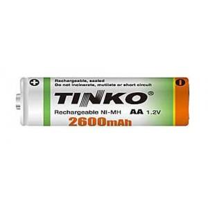 Batéria AA (R6) nabíjacia TINKO NiMH 2600mAh