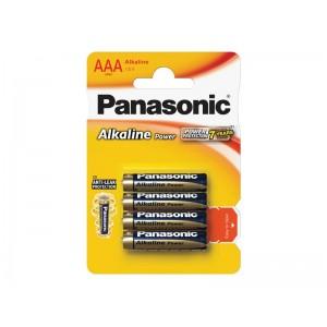Batéria AAA(LR03) alkalická PANASONIC Alkaline Power 4BP