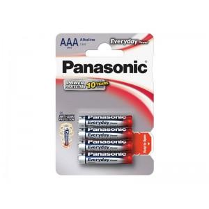 Batéria AAA(LR03) alkalická PANASONIC Everyday Power 4BP
