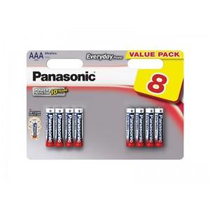 Batéria AAA(LR03) alkalická PANASONIC Everyday Power 8BP