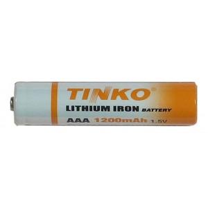 Batéria AAA(R03) lithiová TINKO