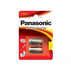 Batéria CR123 PANASONIC lithiová 2BP