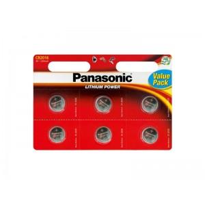 Batéria CR2016 PANASONIC lithiová 6BP